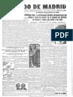El Heraldo de Madrid. 25-10-1927