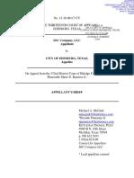 Edinburg v IOC - Court of Appeals - IOC's Brief at Court of Appeals