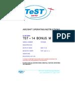 TST-14 M Aircraft Manual LSA Rev.0.74