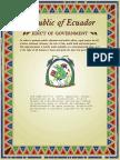 Normas Sanitarias Ecuador