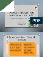 Proyecto de Gestión en Fonoaudiología 2