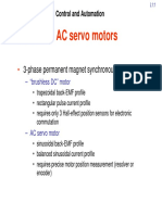 Modelado matemático de un servomotor trifásico