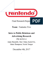 nintendo final research report