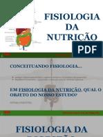 Slides Fisiologia Da Nutrição