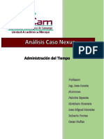 Analisis Caso Nexus