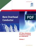 ZTT Bare Conductors Catalog I