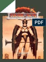 Dark Sun 3.5 - Liberdade - Biblioteca Élfica