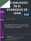 Los Dialogos en El Evangelio de Juan