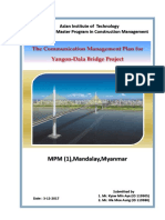 FINAL Yangon-Dala Bridge Communication Management Plan