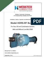 950062 HDRS-RF Burner Manual, 9-14