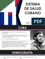 Sistema de Salud Cubano Final