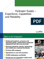 Air Products Hydrogen Plant Capacities