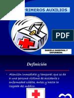 primeros auxilios 2014