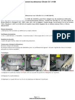 Electricite Auto Demarreur Citroen c3 1 4l Hdi p1 158 (1)