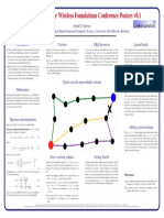 Wireless Foundations Conference Poster