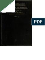 Livro Raro Oleos Volateis Volume 1