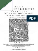 Airs - Bataille - Livre 4e -1613