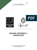 2. Salsas Nixtamal y Chocolate