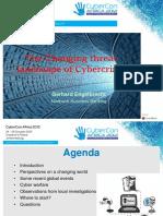 Cybercon 2 4 the Changing Threat Landscape Final Mr Gerhard Engelbrecht