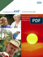 UK Heatwave Plan (March 2010) Department of Health