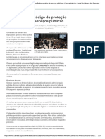 Câmara Aprova Código de Proteção Dos Usuários de Serviços Públicos - Câmara Notícias - Portal Da Câmara Dos Deputados