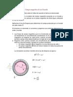 Campo Magnético de Un Toroide y Solenoide Taller- Leccion