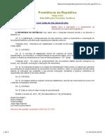 Lei 12682 Elaboração e o Arquivamento de Documentos Em Meios Eletromaggneticos