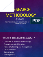 1S Overview of Research Methodology