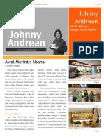 Biografi Johnny Andrean