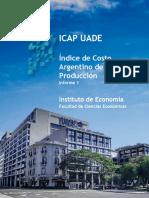 ICAP UADE - Informe 1 - Índice Argentino de La Producción (Sept)
