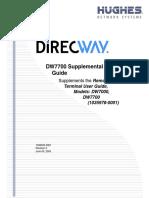 Manual DW7700