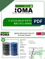Bidones Roma Catalogo Envases Reciclados 704711