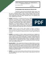 Lista de Programas Para Analisis de Curvas Ip