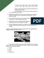 Questões de Língua Portuguesa Para Simulado 2 - Turma 4