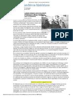 El Universal - Nación - Cierran Archivos Históricos