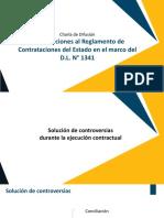 MODIFICACIONES AL REGLAMENTO DE CONTRATACIONES DEL ESTADO EN EL MARCO DEL D.L. N° 1341