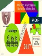 Catalogo Montessori