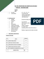 Informe Del Test de Habitos de Estudio