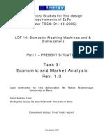 Task 3 Economic and Market Analysis Consumer Behaviours