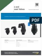 Air Release Vacuum Break Valves