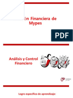 Semana 9 - Analisis y Control Financiero