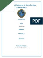 Trabajo Final de La Universidad Autónoma de Santo Domingo.