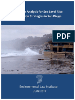 Legal Risk Analysis for Sea Level Rise Adaptation Strategies in San Diego