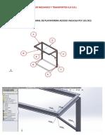 Calculo Estructural de Plataforma Acceso Valvula Pcv 101 Dc2