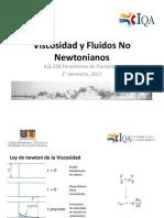 Viscosidad y No Newtonianos