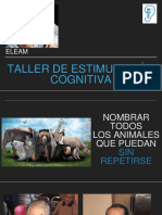Taller Estimulacion Cognitiva Eleam
