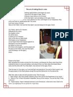 Slava 13 - The Act of Cutting Slava's Cake