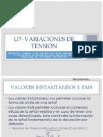 U7- Variaciones de Tension