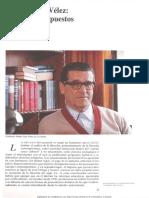 Danilo Cruz Velez Filosofo Sin Supuestos