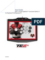 Mad Catz Street Fighter v Arcade FightStick TE2 PS4 PS3 Product Guide
